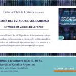 presentación libro de wambert gomez di lorenzo