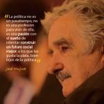 """Pepe Mujica en Rosario: """"No hago apología de la pobreza, enfrento la cultura del despilfarro"""""""