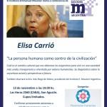 Conferencia de Elisa Carrió