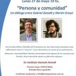 Nueva conferencia del IEM en el Hannah Arendt