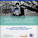 Javier García Moritán presenta su nuevo libro en Bs. As.