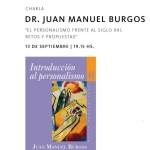 Esta tarde, Juan Manuel Burgos en la Abadía